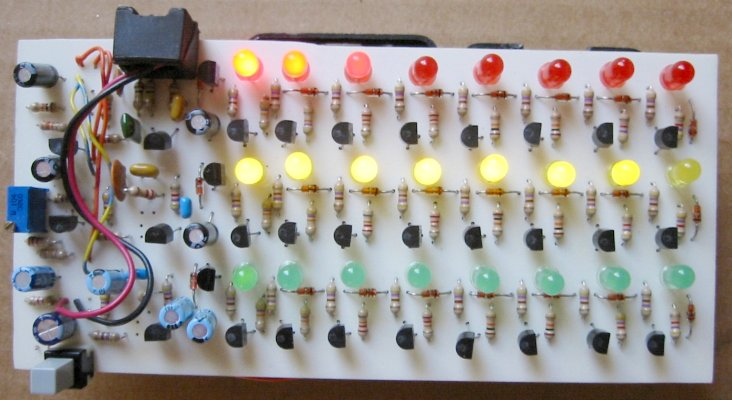 The Electronic Peasant s LED Color Organ Page